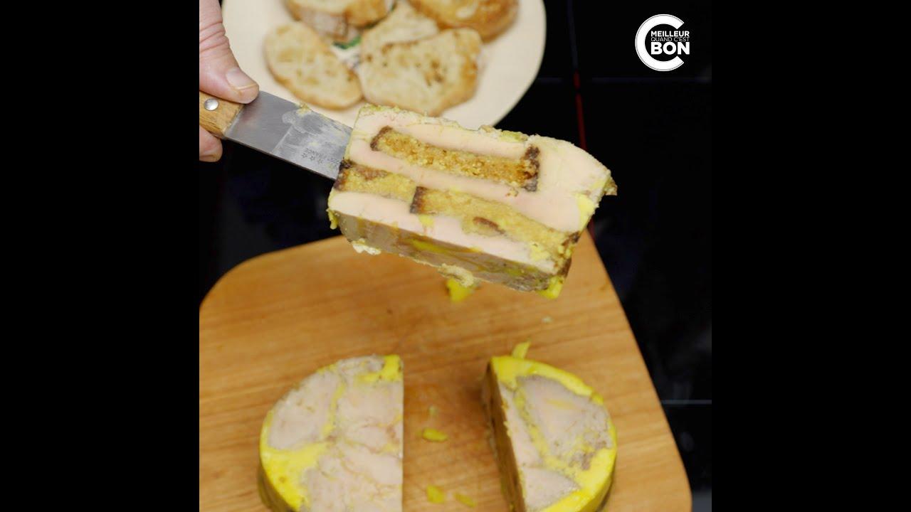 Recette du foie gras au pain d'épices