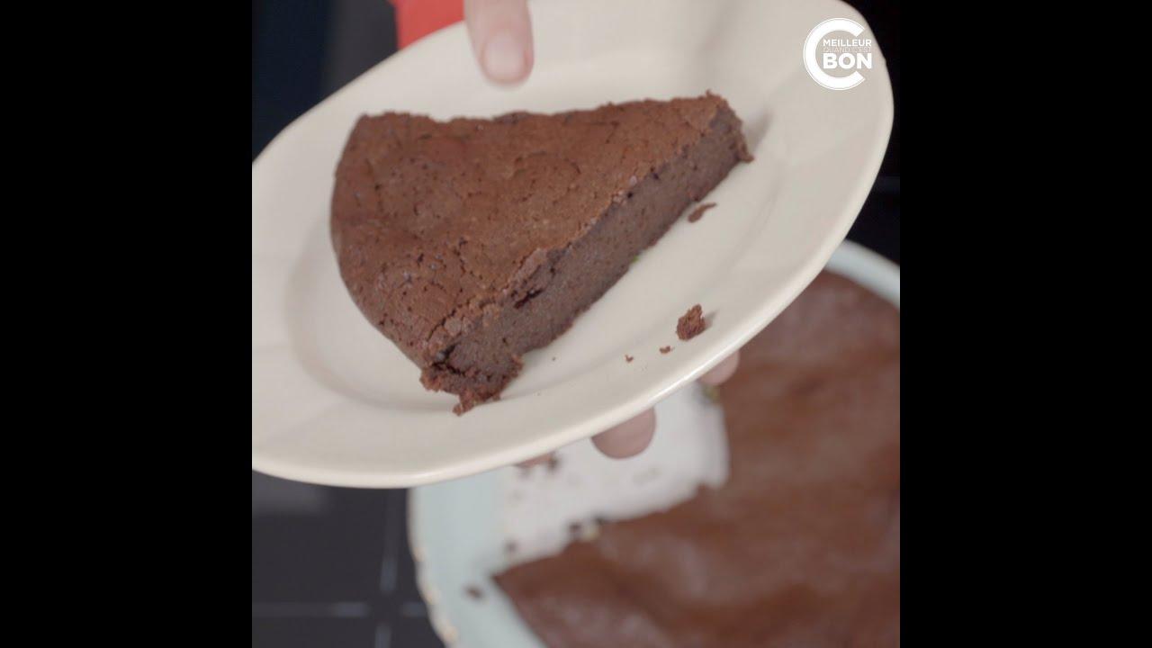 Recette du gâteau au chocolat ganache